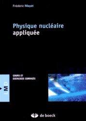 Physique nucléaire appliquée