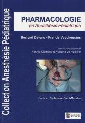Pharmacologie en anesthésie pédiatrique