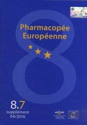 Pharmacopée européenne. 3 volumes, suppléments 8.6, 8.7, 8.8, Edition 2015