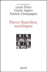 Pierre Bourdieu, sociologue