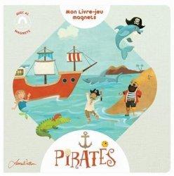 Pirates - Livre jeux magnet