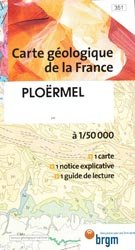Carte géologique de la France  Ploërmel