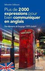 Plus de 2000 expressions pour bien communiquer en anglais