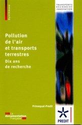 Pollution de l'air et transports terrestres
