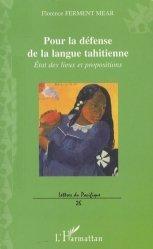 Pour la défense de la langue tahitienne