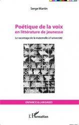 Poétique de la voix en littérature de jeunesse