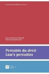 Porosites du droit / Laws porosities