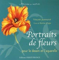 Portraits de fleurs pour le dessin et l'aquarelle