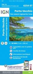 La couverture et les autres extraits de Sartène, montagne de Cagna, PNR de Corse. 1/25000