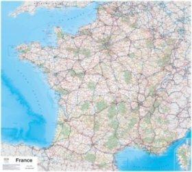 La couverture et les autres extraits de France Sud-Est plastifiée. 1/500 000, Edition 2018, Edition bilingue français-anglais