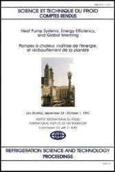 Pompes à chaleur, maîtrise de l'energie et réchauffement de la planète : Heat pump systems, energy efficiency, and global warming