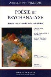 Poésie et psychanalyse. Essais sur le conflit et la culpabilité