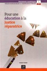 Pour une éducation à la justice réparatrice