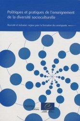 Politiques et pratiques de l'enseignement de la diversité socioculturelle