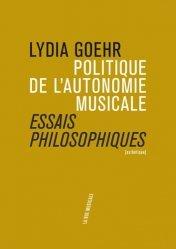 Politique de l'autonomie musicale