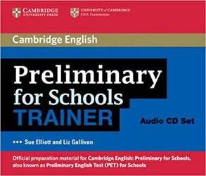 Preliminary for Schools Trainer - Audio CDs (3)