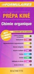 Prépa kiné Chimie organique