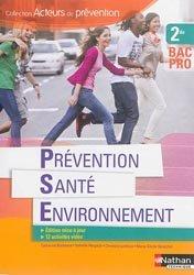 Prévention Santé Environnement 2e BAC PRO