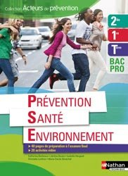 La couverture et les autres extraits de Prévention Santé Environnement CAP - Livre professeur - Ed. 2012