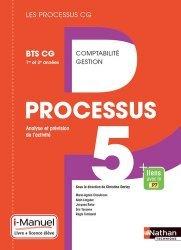 Processus 5 Analyse et prévision de l'activité BTS CG 1re et 2e années