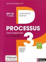 Processus 3 Gestion des obligations fiscales BTS CG 1re année