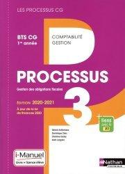 Processus 3 Gestion des obligations fiscales BTS CG 1re année Les processus CG