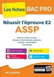La couverture et les autres extraits de Fiches d'activités Sciences et techniques sanitaires et sociales 1e ST2S