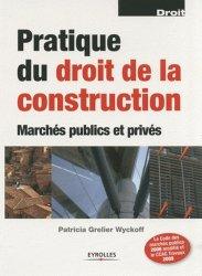 La couverture et les autres extraits de Pratique du droit de la construction