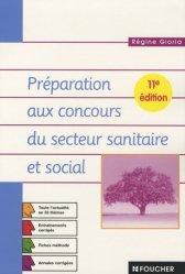 La couverture et les autres extraits de Concours d'entrée Aide-soignant Auxiliaire de puériculture Épreuves écrites