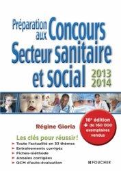 Préparation aux concours secteur sanitaire et social 2013 - 2014