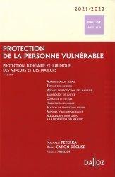Protection de la personne vulnérable 2019/2020