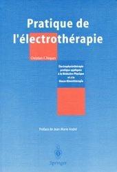 Pratique de l'électrothérapie
