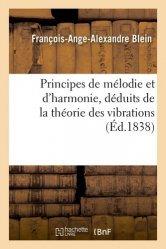 Principes de mélodie et d'harmonie, déduits de la théorie des vibrations