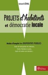 Projet d'habitants et démocratie locale