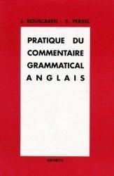 Pratique du commentaire grammatical anglais