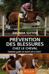 Prévention des blessures chez le cheval. Comment garder un cheval sain et intact