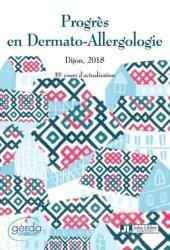 La couverture et les autres extraits de Progrès en dermato-allergologie : Dijon 2018