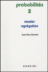 Probabilités 2 Master Agrégation