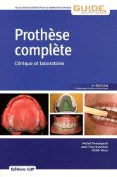 La couverture et les autres extraits de Prothèse complète