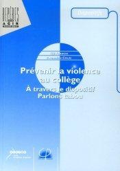 Prévenir la violence au collège