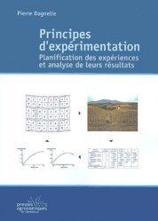 La couverture et les autres extraits de Principes d'expérimentation