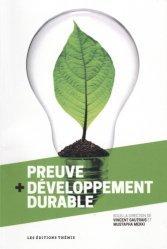 Preuve + développement durable