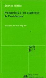 Prolégomènes à une psychologie de l'architecture