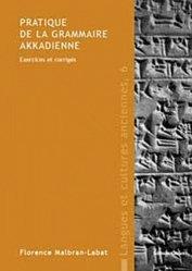 Pratique de la grammaire akkadienne