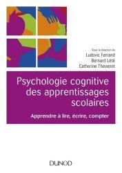 Psychologie cognitive des apprentissages scolaires