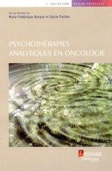 Psychothérapies analytiques en oncologie