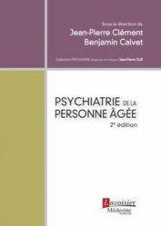 La couverture et les autres extraits de La psychogériatrie