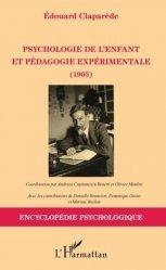 Psychologie de l'enfant et pédagogie expérimentale. 1905
