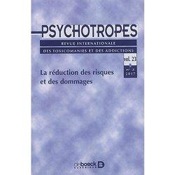 Psychotropes  - la reduction des risques et des dommages