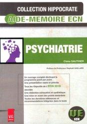 La couverture et les autres extraits de Psychiatrie pour l'étudiant